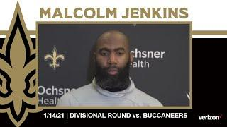 Malcolm Jenkins on Tom Brady-led Offense, Divisional Prep | Saints-Buccaneers NFC Divisional Round