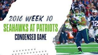 2016 Week 10: Seahawks at Patriots | Condensed Game