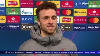 Diogo Jota reflects on scoring Liverpool's 10,000th goal in win vs Midtjylland