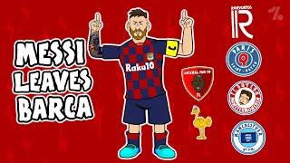 Which of these clubs would Lionel Messi leave Barcelona for?  442oons