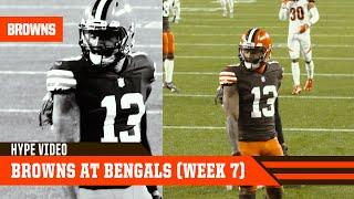 Browns at Bengals Hype Video (Week 7) | Cleveland Browns