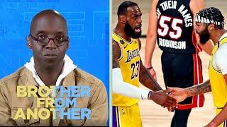 NBA Finals: Lakers-Heat has all the makings of a short series | Brother From Another | NBC Sports