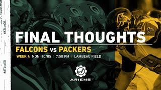 Packers vs. Falcons | Final Thoughts