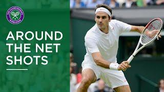Great Around the Net Shots at Wimbledon