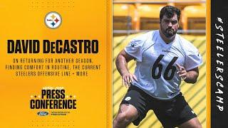 "David DeCastro on football: ""I don't know what I would do without it"" 