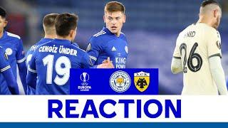 'A Very Important Win For Us' - Harvey Barnes | Leicester City 2 AEK Athens 0 | 2020/21