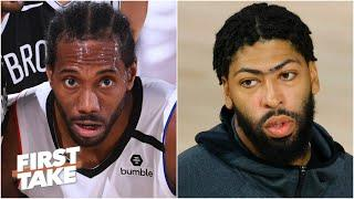 Kawhi Leonard or Anthony Davis: Who is under more pressure in the NBA playoffs?   First Take