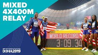 Mixed 4x400m Relay Final | World Athletics Championships Doha 2019