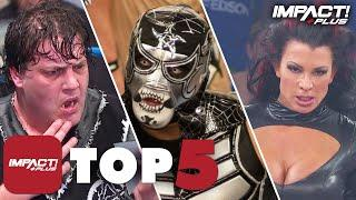 5 Most SHOCKING Unmaskings in IMPACT Wrestling History! | IMPACT Plus Top 5