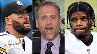Max Kellerman hypes up Steelers vs. Ravens : The NFL's 'No. 1 rivalry' | First Take