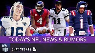 NFL Rumors On Deshaun Watson & Carson Wentz Want A Trade? Cam Newton To WFT & Trevor Lawrence News