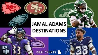 Jamal Adams Trade Rumors: Power Ranking The 8 NFL Teams Adams Wants To Play For Ft. Cowboys & Eagles