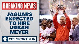 BREAKING: Urban Meyer expected to be named Jacksonville Jaguars head coach | CBS Sports HQ