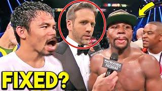 """"""" HE ONLY RUNS!"""" MANNY PACQUIAO REACTS TO LOSS vs MAYWEATHER  *MAX SHOCKED IN POST FIGHT INTERVIEW*"""