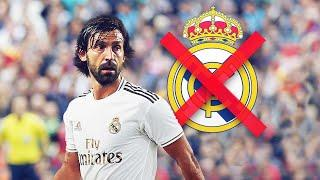 Why didn't Andrea Pirlo sign for Real Madrid? | Oh My Goal