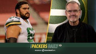 Packers' Offensive Line Keeping Aaron Rodgers Safe | Packers Daily