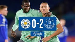 LEICESTER CITY 0-2 EVERTON   RICHARLISON + HOLGATE FIRE BLUES TO VICTORY   PREMIER LEAGUE HIGHLIGHTS