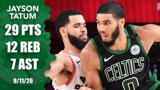 Jayson Tatum takes over in Raptors vs. Celtics Game 7 showdown | 2020 NBA Playoffs