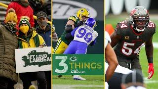 Packers' Run Game, Bucs' Linebackers And Packers Fans   Three Things