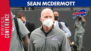 "Sean McDermott: ""Confident In Our Football Team"" 