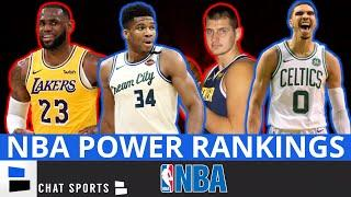 NBA Power Rankings: Ranking ALL 22 Teams In The NBA Bubble Ft. Bucks, Lakers, Nuggets & Clippers