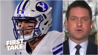 Todd McShay has the Jets taking BYU QB Zach Wilson No. 2 overall in his Mock Draft 2.0 | First Take