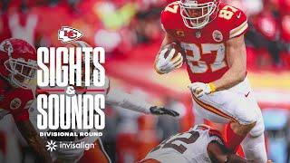 Sights and Sounds from the Divisional Playoffs | Chiefs vs. Browns