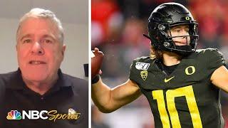 Instant Reaction: Los Angeles Chargers draft Justin Herbert with sixth overall pick   NBC Sports
