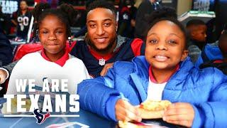 Texans Justin Reid, Jacob Martin & Michael Thomas Inspire Change Across Houston Community