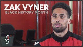 Zak Vyner talks his start in football and suffering racial abuse from a fan | Black History Month