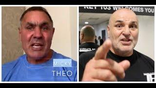 'JOHN FURY HAS GONE INTO HIDING! - LET'S SEE IF YOU CAN KNOCK ME OUT' -WARNS MICKY THEO ON JOHN FURY