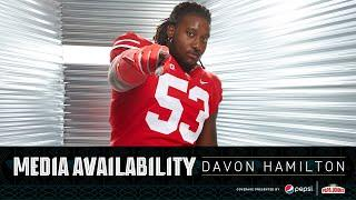 """""""I'm able to create disruption in the backfield"""" 