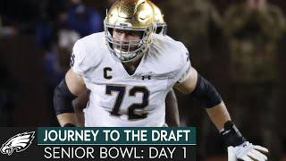 Senior Bowl Practice Day 1 Reactions   Journey to the Draft