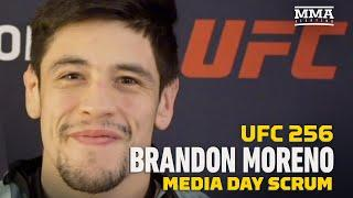 UFC 256: Brandon Moreno: I Change MMA in Mexico If I Win The Flyweight TItle - MMA Fighting