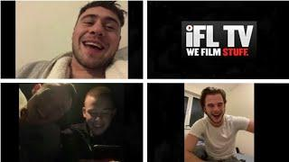 'I RECKON I COULD BANG DAVE IN!' - DAVE ALLEN INTRODUCES HARRY, JOE & JOSH TO THE IFL TV VIEWERS