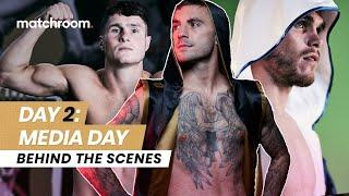 Fight Week, Day 2: Ritson vs Vazquez - Media Day (Behind The Scenes)