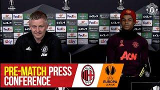 Pre-Match Press Conference | AC Milan v Manchester United | UEFA Europa League