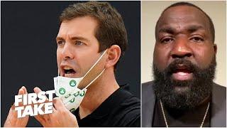 The Celtics are walking over Brad Stevens - Kendrick Perkins | First Take
