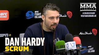 Dan Hardy Reflects on Herb Dean Incident, Calls McGregor vs. Sanchez an 'Execution' - MMA Fighting