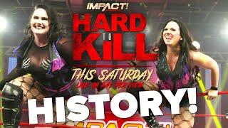 HISTORY at HARD TO KILL! Knockouts Tag Team Championships On The Line This Saturday on Pay-Per-View!