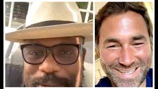 'CAN YOU DELIVER & PERFORM BEHIND CLOSED DOORS WITH NO FANS?' - EDDIE HEARN QUESTIONS DEREK CHISORA