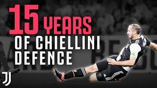 15 Years of Chiellini Defence.. in 5 Minutes! | Giorgio Chiellini Best Defence & Tackles! | Juventus