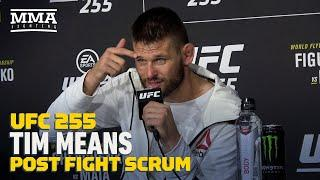 UFC 255: Tim Means Says Mike Perry Sent DMs Of Pizza and Onion Rings Before Fight - MMA Fighting