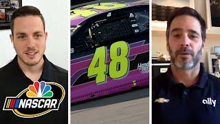 Jimmie Johnson, Alex Bowman discuss transition of No. 48 with Mike Tirico | Motorsports on NBC