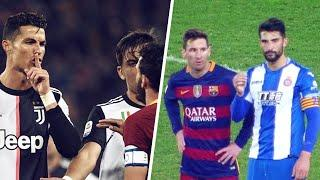 6 times Lionel Messi and Cristiano Ronaldo disrespected their opponents | Oh My Goal