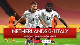 Barella finishes incredible Italian team-goal | Netherlands 0-1 Italy | Nations League Highlights