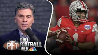 PFT Overtime: Justin Fields' petition, Washington makes history | NBC Sports