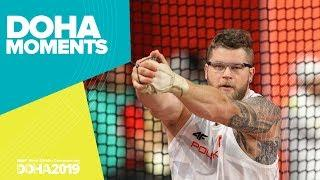 Fajdek's Fourth Hammer Throw Gold | World Athletics Championships 2019 | Doha Moments