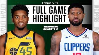 Utah Jazz vs. LA Clippers [FULL GAME HIGHLIGHTS] | NBA on ESPN