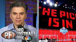 Florio 'stunned' by lack of social distancing at prospects' homes | Pro Football Talk | NBC Sports